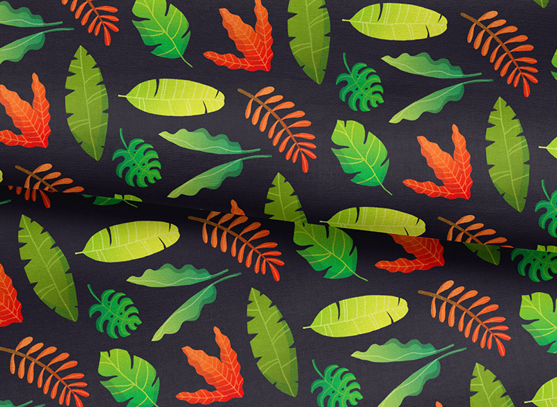 Tropical Leaves - Thumbnail